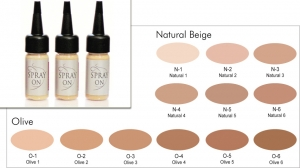 Airbrush Make up Foundation - HD - Silicone Based - 30 ml
