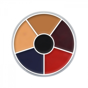 Creme Color Wheel Burned Skin