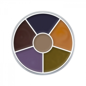 Creme Color Wheel Prellungen Schminke Halloween Profi