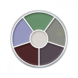 Creme Color Wheel gruselige Kreaturen Schminke Halloween Profi