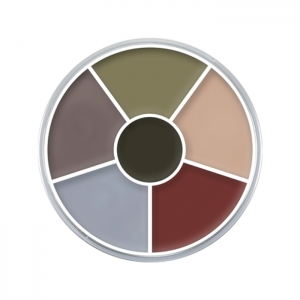 Creme Color Wheel Death Halloween