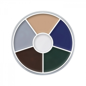 Creme Color Wheel Zombie Halloween