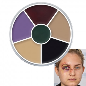 Creme Color Wheel Black Eye Halloween