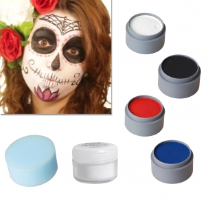 Halloween Schminke Set Sugar Skull Spain schminken