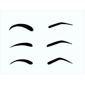 Augenbrauen Schablone