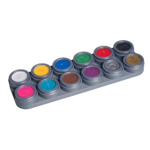 GRIMAS Water Make up - 12 Farben Palette -A