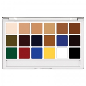 Kryolan Body Illustration Make-up Color Palette Extra