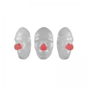 Eckige Clownsnase Latexteil Gesichtsteil Nase