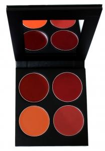 Lippenstift Palette - 4 Farben - U-Palette
