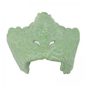 Reptil Gesicht Schnauze Latexteil Gesichtsteil