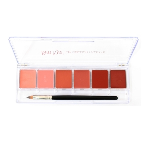 Lipstick Palette Ben Nye - Natural Lip 6 colors