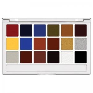 Kryolan Body Illustration Make-up Color Palette FX