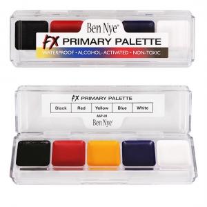 Ben Nye FX Primary Palette Alkohol Farben