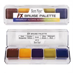Ben Nye FX Bruise Palette Alkohol Farben