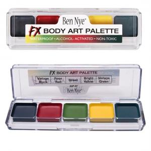 Ben Nye FX Body Art Palette Alkohol Farben