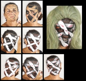Horror Monster Schminke Set schminken