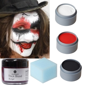 Halloween Makeup Set Terror Clown