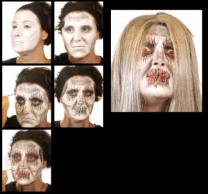 Horror Zombie Untote Schminke Schminkset