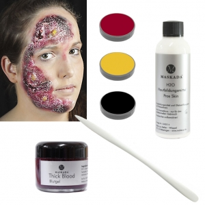 Halloween Makeup Set Horror Skin