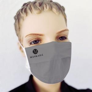 Mund Nasen Maske mit Firmen Logo Druck 50 Stück SET