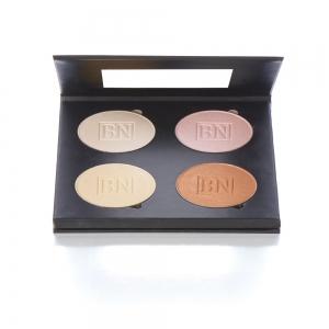 Shimmer Compact Puder Palette - 4 Farben Ben Nye