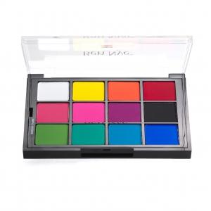 Ben Nye Lidschatten Rouge Palette Rainbow Palette STP-80