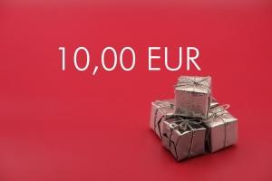 Geschenkgutschein 10,00 EUR