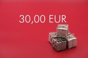 Geschenkgutschein 30,00 EUR
