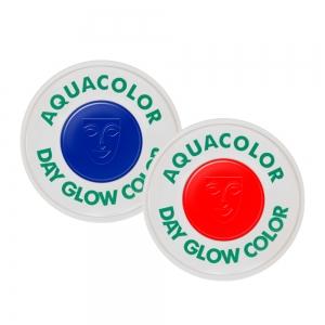 Kryolan Aquacolor Tagesleucht UV Schwarzlicht Effektfarbe 8 ml - Leuchtfarbe
