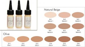Airbrush Make up Foundation - HD - Silicone Based - 15 ml