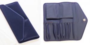 Pinseltasche - Farbe blau