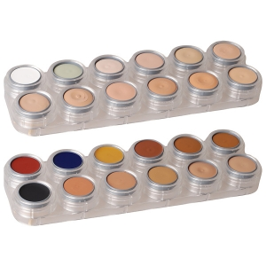 Grimas Camouflage Make up - 24 Farben Palette