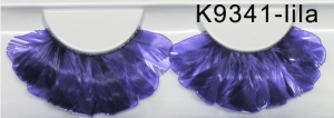 Eyelashes - Feathers 9341 purple