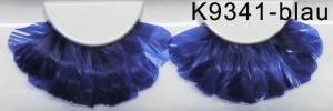 Falsche Wimpern - Federn 9341 blau