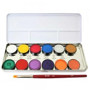Lumiere Creme Colors - Palette - 12 Farben  - 43,2gr