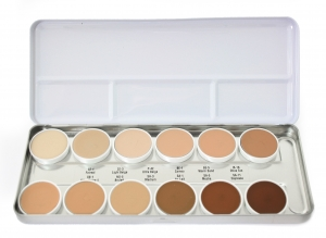 HD Matte Foundation Palette - Ben Nye 42 gr