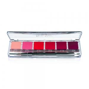 Lippenstift Palette Ben Nye - Fashion Lip 6 Farben