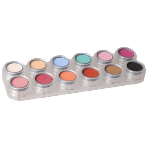 Eyeshadow - Rouge Palette - 12 Color - U