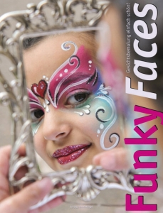 Funky Faces Gesichtsbemalung einfach schön