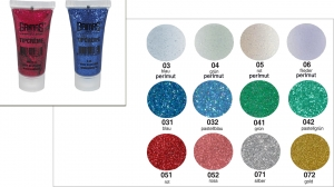 Grimas Tip Creme Glitzer Gel 8ml Tube
