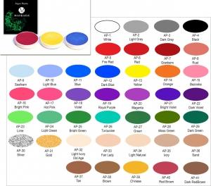 Aqua Paints - Refill 4 gr - en Karneval