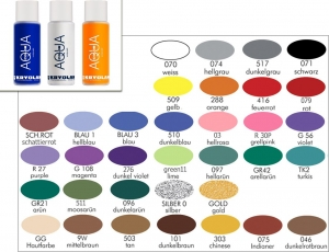 KRYOLAN Aquacolor Liquid 150 ml Bodypainting Farbe