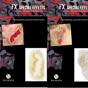 FX Special Effects aus Silikon