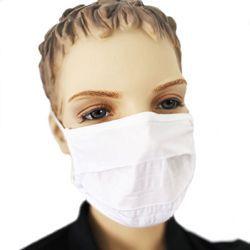 Mundmaske - aus Stoff waschbar einzeln