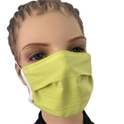 Mundmaske Mund Nasenmaske Stoff Baumwolle grün bestellen