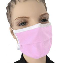 Mundmaske für Kinder in der Lieblingsfarbe pink rosa kaufen